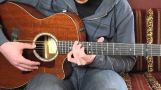 "How To Play ""Follaton Wood"" By Ben Howard (guitar lesson / tutorial)"