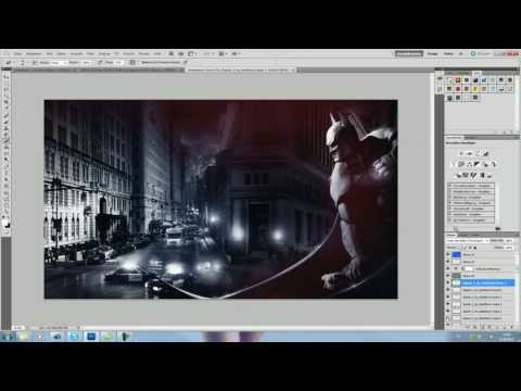 gotham-city---speedart-(batman!)