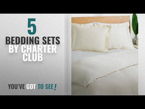 Top 10 Charter Club Bedding Sets [2018]: Charter Club 3 Pc Comforter Cover King, Ivory