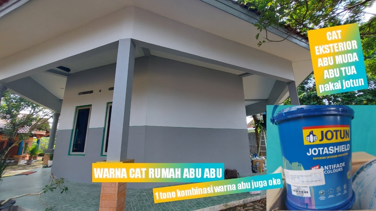 Cat Rumah Abu Abu Terbaik Youtube Cat tembok abu abu muda
