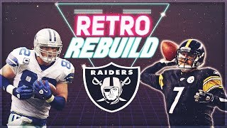 Raiders Draft Ben Roethlisberger! | Oakland Raiders Retro Rebuild | Madden 19 Franchise Mod