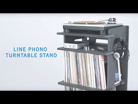 how to make a turntable stand