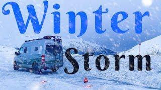 Alaska Winter Storm Iฑ a Van: Are You Prepared for Winter Van Life?