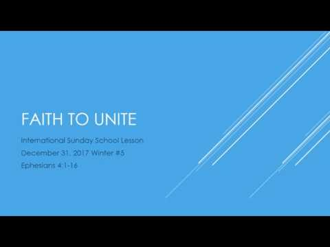Sunday School December 31 2017 Youtube