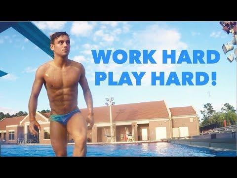 Work Hard Play Hard!: Florida Edition | Tom Daley