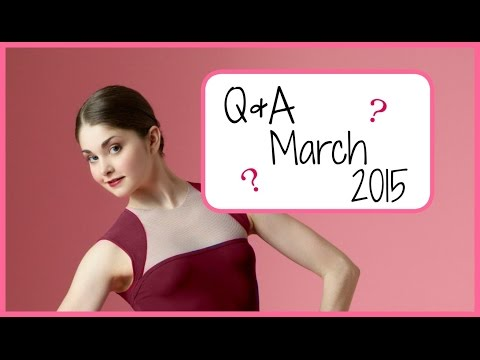 Pairs of Pointe Shoes? Pirouettes? Q&A March 2015 | Kathryn Morgan