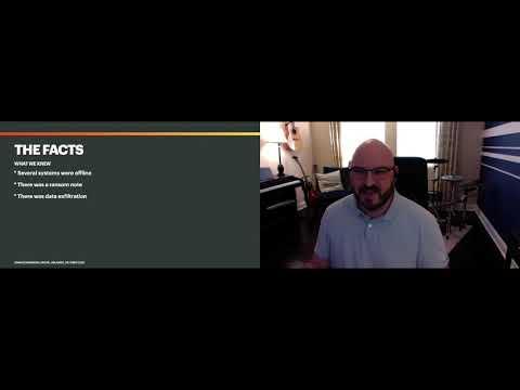 Shut It All Down: Anatomy of a Cybersecurity AttackAdam Scheinberg - Digital Orlando 2020
