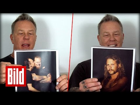 Metallica: James Hetfields alte Fotos