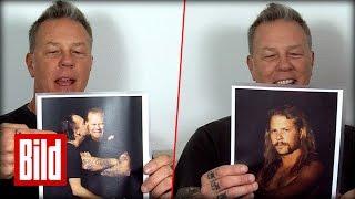 Metallica: James Hetfields alte Fotos