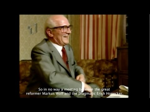 Erich Honecker ARD interview in Moscow, 1991