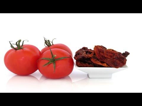 Curso Produção de Tomate Seco em Conserva e Shiitake Desidratado - Matéria-prima