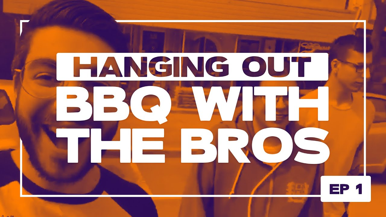 Hanging Out – BBQ With The Bros