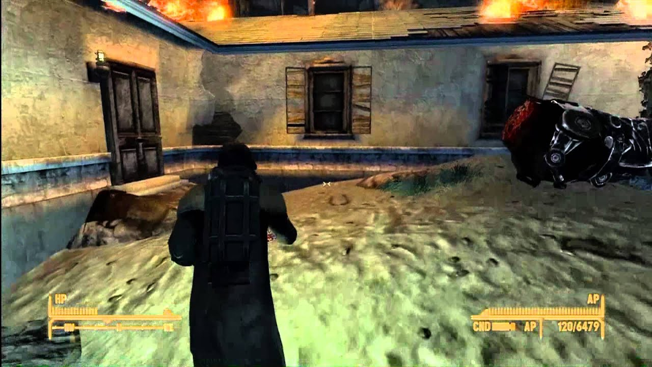 Fallout New Vegas Old World Blues Sonic Emitter Upgrade Quest Hd