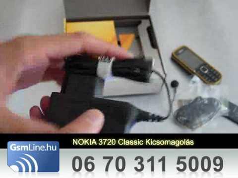 Nokia 3720 Classic kicsomagolás