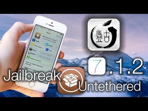 Jailbreak iOS 7.1.2 Untethered [iPhone 5S/5C/5/4S/4/iPad Air/4/3/2/Mini/iPod Touch 5G] - Pangu 1.2