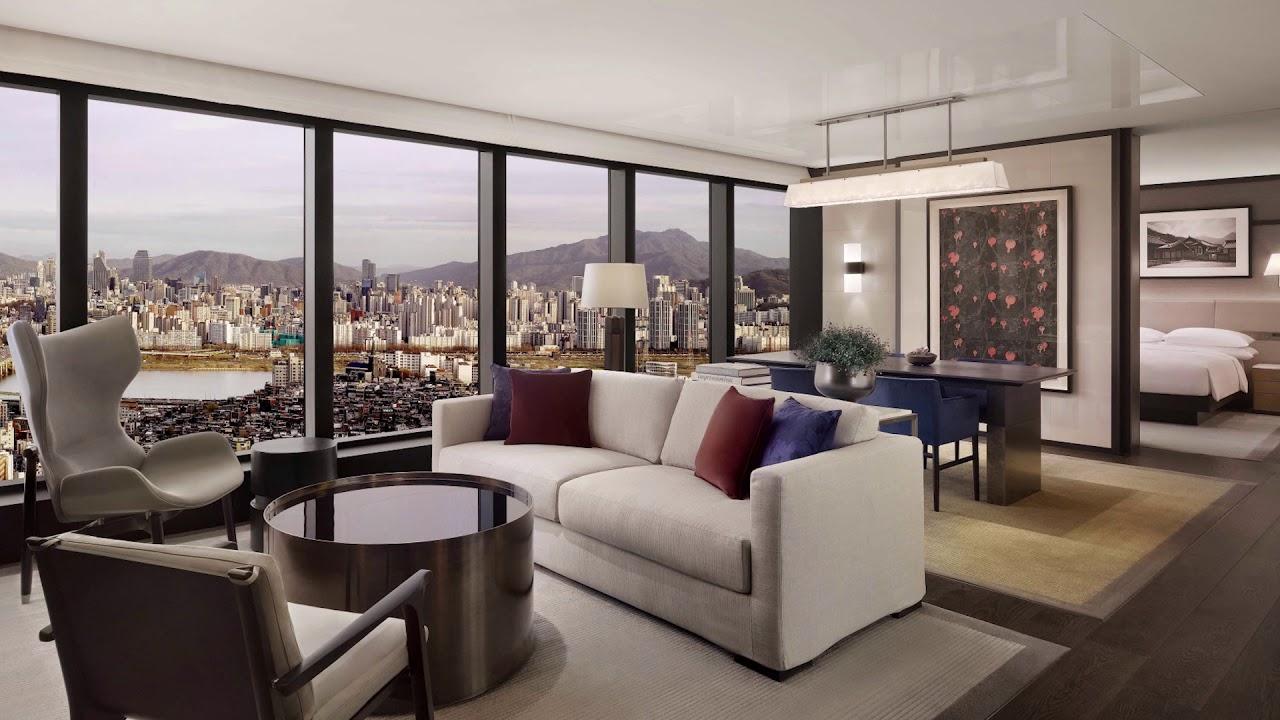 Grand Hyatt Seoul Seoul S Top 5 Star Hotel Brand New Suites Rooms Youtube