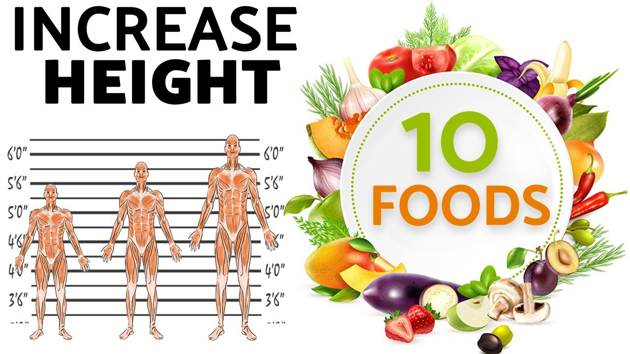 Download Increase Height to Eating these 10 Foods (100% Guaranteed Routine) @FitPedia