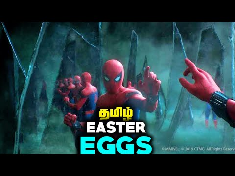Spiderman Far From Home Easter Eggs Explained In Tamil