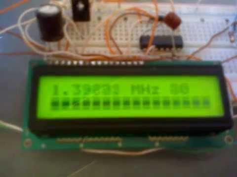how to connect frequency counter
