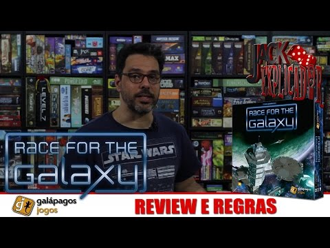 Jack Explicador - Race for the Galaxy - Review e Regras