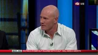 Barry Hall discusses the Swans-Eagles rivalry from the mid-2000s AFL 360 12th July 2012