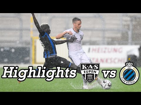 Eupen Club Brugge Goals And Highlights