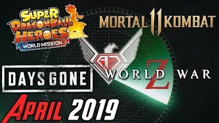 AJS: On The Radar - April Games 2019!