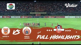 Borneo FC (1) vs (0) Persija Jakarta - Full Highlight | Shopee Liga 1