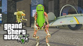 GTA 5 MOD - Pickle Rick! (Rick and Morty)