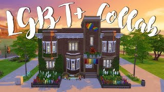 LGBT+ Apartment Collab | Sims 4 Speed Build | @PenappleYT