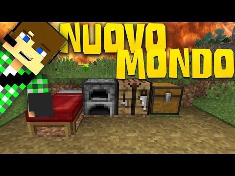 SurreaIPower _Minecraft ITA - #530 - NUOVO MONDO, INIZIO COL BOTTO
