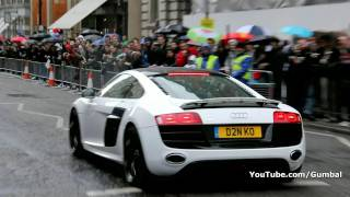 Sportec Audi R8 w/ Quicksilver Titanium Exhaust - Very loud revs!! 1080p HD