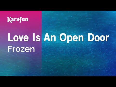 Karaoke Love Is An Open Door - Frozen *