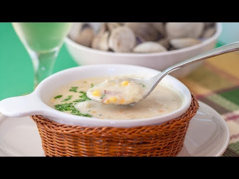 How to Make Clam Chowder - Best New England Clam Chowder