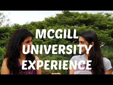College Experience - McGill University, Canada -1