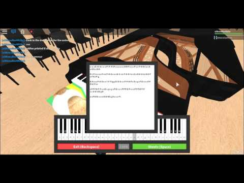 Roblox Virtual Piano All Of Me Sheets Youtube