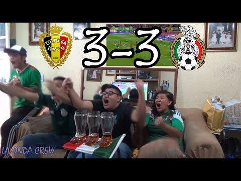 ¡CHUCKY EL BELGA! / Bélgica vs México (3-3) / Amistoso Internacional / Reacción