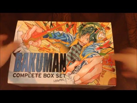 Manga Unboxing - Bakuman Complete Box Set 1-20