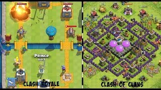 jogando clash royale e clash of clans no pc