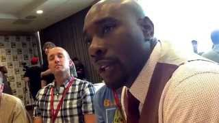 Morris Chestnut at SDCC 2014 for Legends! Thumbnail