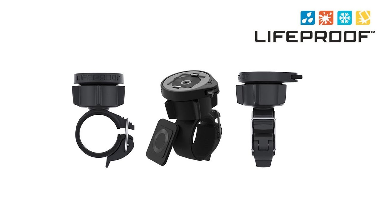 save off 646f3 06424 Buy the Lifeproof 78-50358 Lifeactiv Bike/Bar Mount With Quickmount Black (  78-50358 ) online