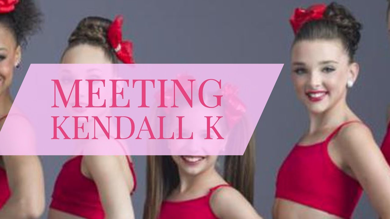 Meeting kendal k from dance moms youtube kristyandbryce Choice Image