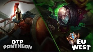 Singed vs OTP Pantheon | West Challenger - Master ELO | Öğretici |