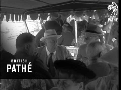 President Heuss Opens 'interbau' Exhibition (1957)