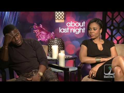 Why is Kevin Hart crying like a 'B@$c#'?  ABOUT LAST NIGHT interview