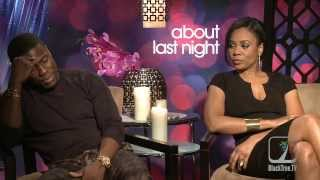 Repeat youtube video Why is Kevin Hart crying like a 'B@$c#'?  ABOUT LAST NIGHT interview