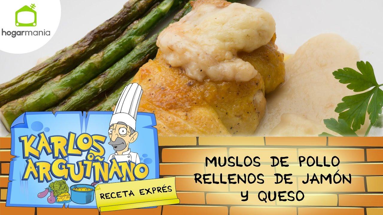Karlos Arguiñano: Receta de Muslos de pollo rellenos de jamón y ...