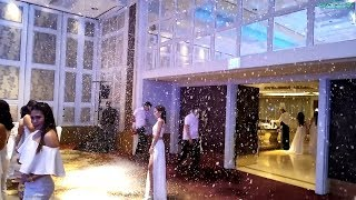 Funk Circuit™ Snow Machine for Apex 8 White Christmas Party at the Makati Shangri-La (Dec 5, 2017)