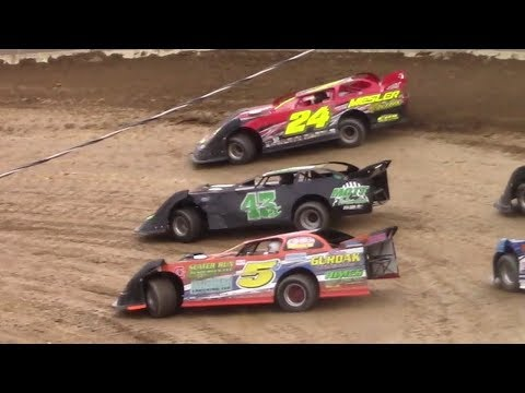 RUSH Crate Late Model Heat Two | Old Bradford Speedway | 8-13-17