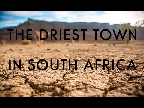 Calvinia - The Driest Town in South Africa